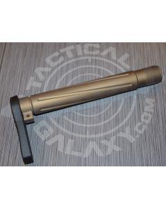 "BURNT BRONZE   CERAKOTE AR-15  Fixed  ""MINIMALIST"" STOCK"