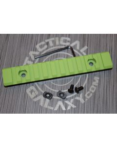 "Zombie green 5"" picatinny rail"