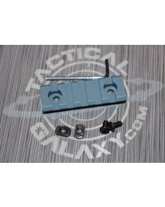 "Titanium Blue  2 3/8"" picatinny rail"