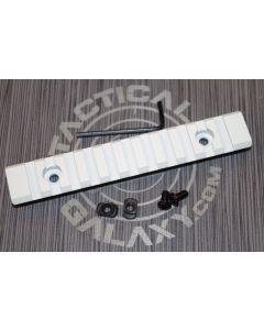 "White Cerakote 5"" picatinny rail"