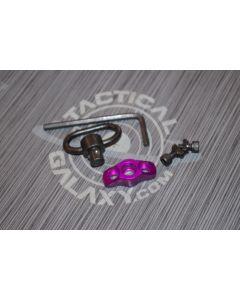 gen 2 qd swivel mount mlok purple