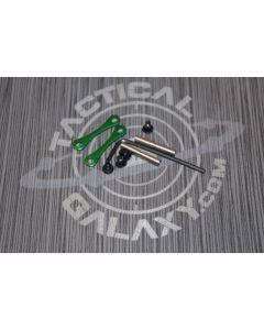 AR15 / AR-10 Green Anodized Anti Walk Hammer Trigger Pins