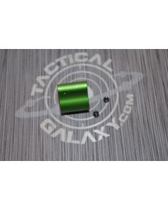 AR-15 GREEN ANODIZED LOW PROFILE GAS BLOCK 2