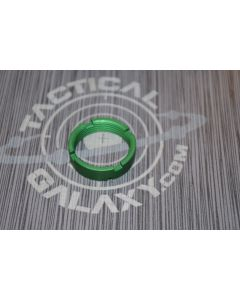 AR15 Green Anodized MilSpec Castle Nut Locking Nut For 223 2