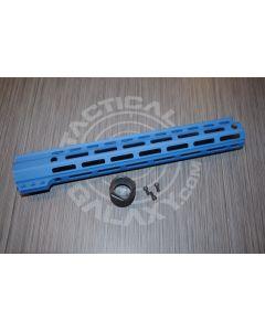 "Tactical Galaxy 13""  NRA BLUE Handgaurd clamp on"