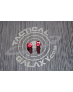RED Anodized INFIDEL AR-15 Extended Takedown Pins