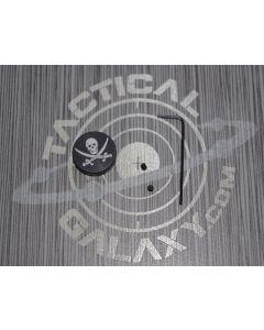 AR15 and AR10 JOLLY ROGER FORWARD ASSIST CAP  Calico Jack