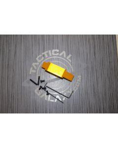 AR15 Orange Anodized enhanced trigger guard
