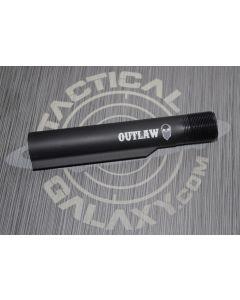 Outlaw Bandit Skull AR15 / M16 / M4 Buffer Extension Tube