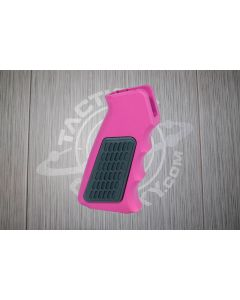 Anodized AR15 Aluminum Pistol Grip With Rubber Insert