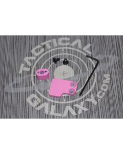 2 PC BUTTON FOR AR15 AND AR10 PINK CERAKOTE
