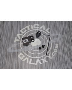 AR-15 2PC Oversized Magazine Extended Release Button - POLICE