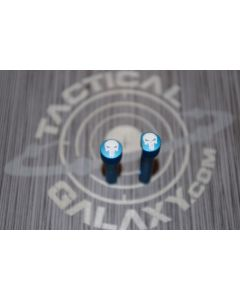 AR-15 PUNISHER BLUE ANODIZED PINS for 223