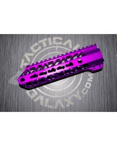 AR15 Purple Anodized ENFORCER 7 INCH HAND GUARD RAIL