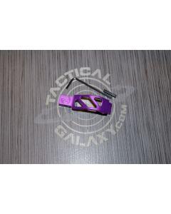 AR 15 Purple Anodized enhanced trigger guard