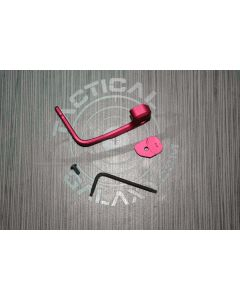 magpul bad lever - red anodized