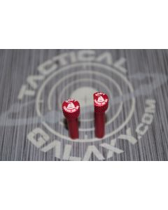 RED Anodized DON'T TREAD ON ME AR-15 Extended Takedown Pins