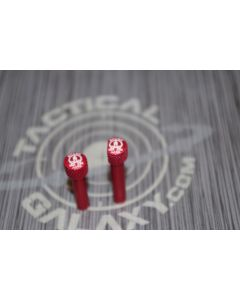 RED Anodized MOLON LABE AR-15 Extended Takedown Pins