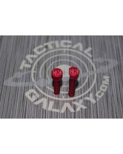 red-ar-15-extended-takedown-pins-custom-text