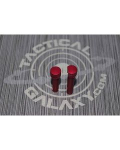 AR15 RED ANODIZE PINS