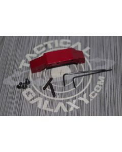 Red Anodized  AR-15 OVERSIZED TRIGGER GUARD