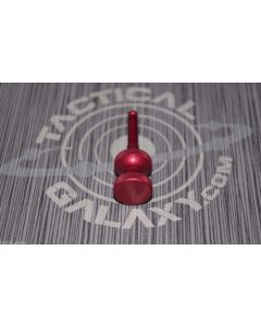 benelli anodized charging handle, red benelli anodized charging handle