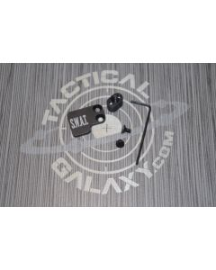 AR-15 2PC Oversized Magazine Extended Release Button - SWAT