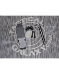 ENHANCED TRIGGER GUARD FOR AR15 AND AR10 SNIPER GREY CERAKOTE