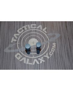 TAKEDOWN AND PIVOT PINS FOR AR15 TITANIUM BLUE CERAKOTE
