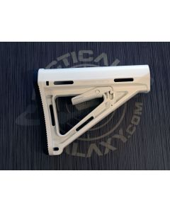 AR-15 White Cerakote MOE Carbine Stock