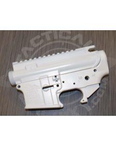 AR15 LOWER and UPPER COMBO SETS WHITE CERAKOTE